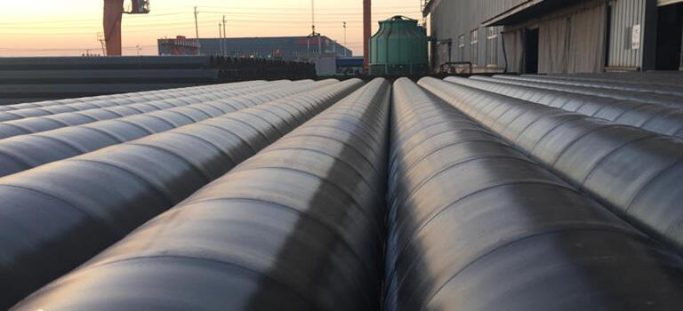 Cheap 2PE anti-corrosion/coated ERW steel pipe