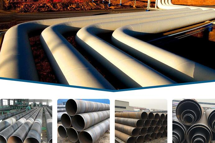spiral welded Anti-Corrosion SSAW steel Pipe